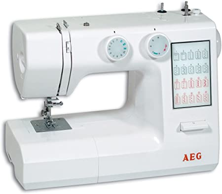 AEG NM 824 - Máquina de Coser: Amazon.es: Hogar