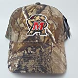 NCAA New Real Tree Maryland Terps Embroidered Adjustable Buckle Back Cap