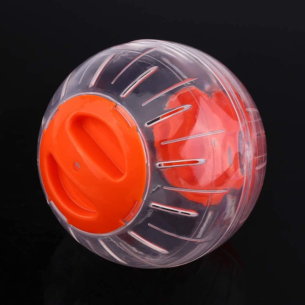 Hamster Exercise Ball 12cm Plastic Small Pet Hamster Gerbil Toy Running Activity Exercise Ball Mini Hamster Run Exercise Ball