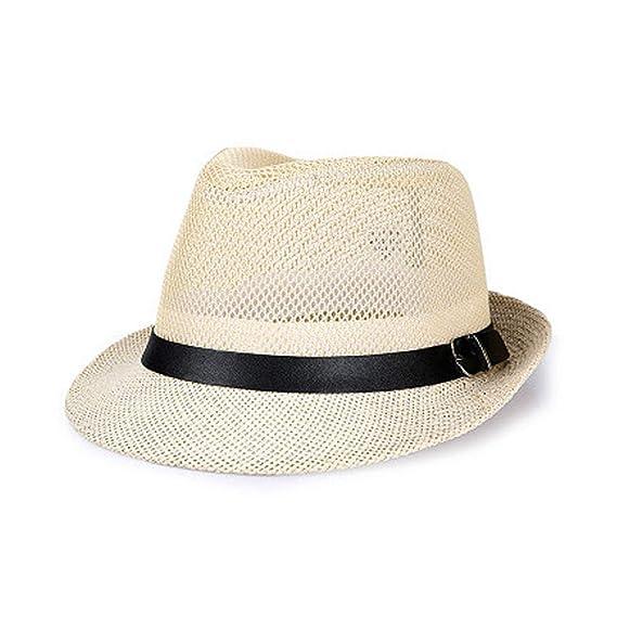 August Jim - Sombreros de Paja Unisex Hombre 3f6776c1d06