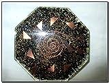 Jet Black Tourmaline Orgone Vastu PlateFree Booklet Jet International Crystal Therapy Energy Generator Crystal Gemstones Unique Rare Science Construction Vedic Astrology