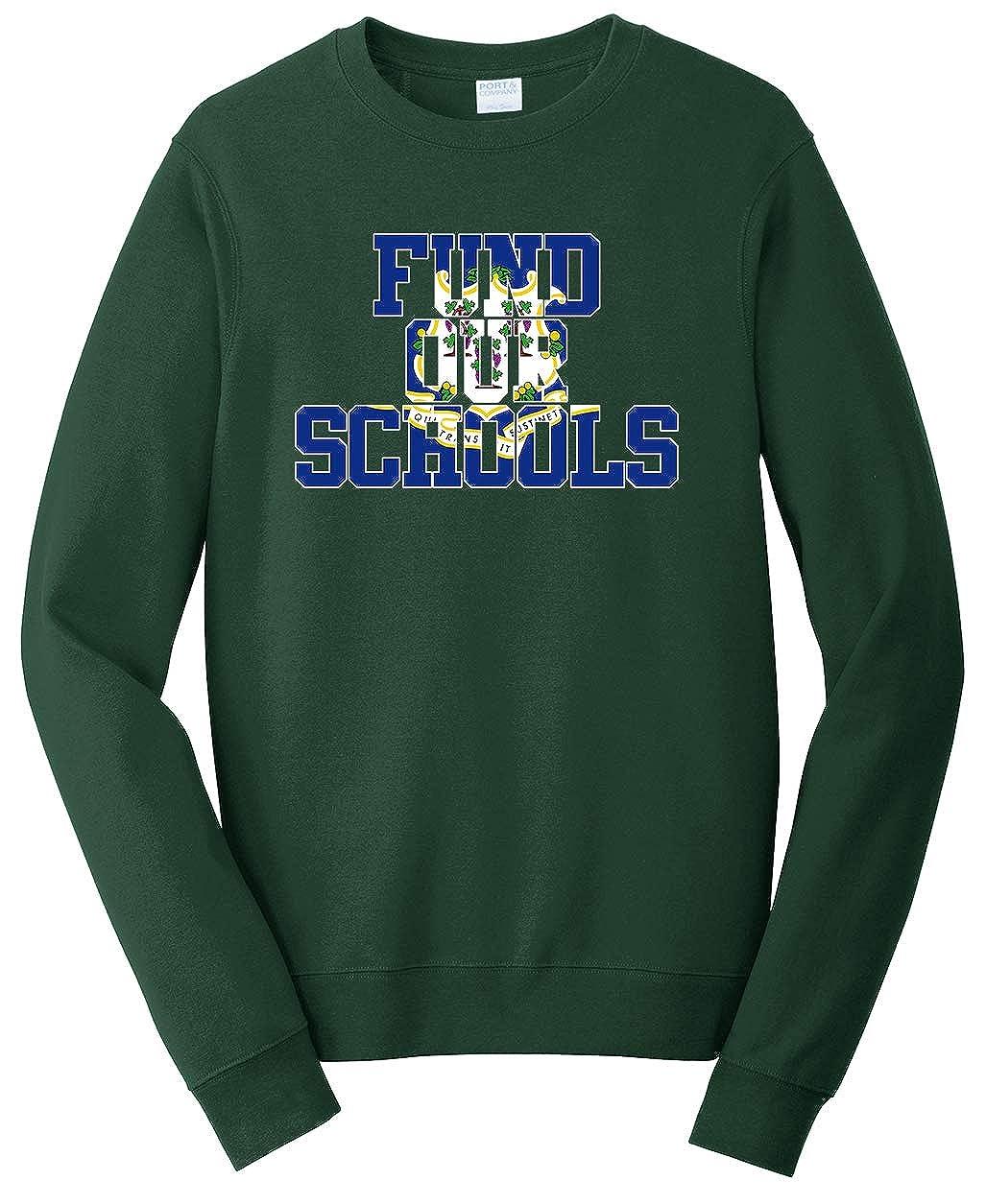 Tenacitee Unisex Fund Our Connecticut Schools Sweatshirt