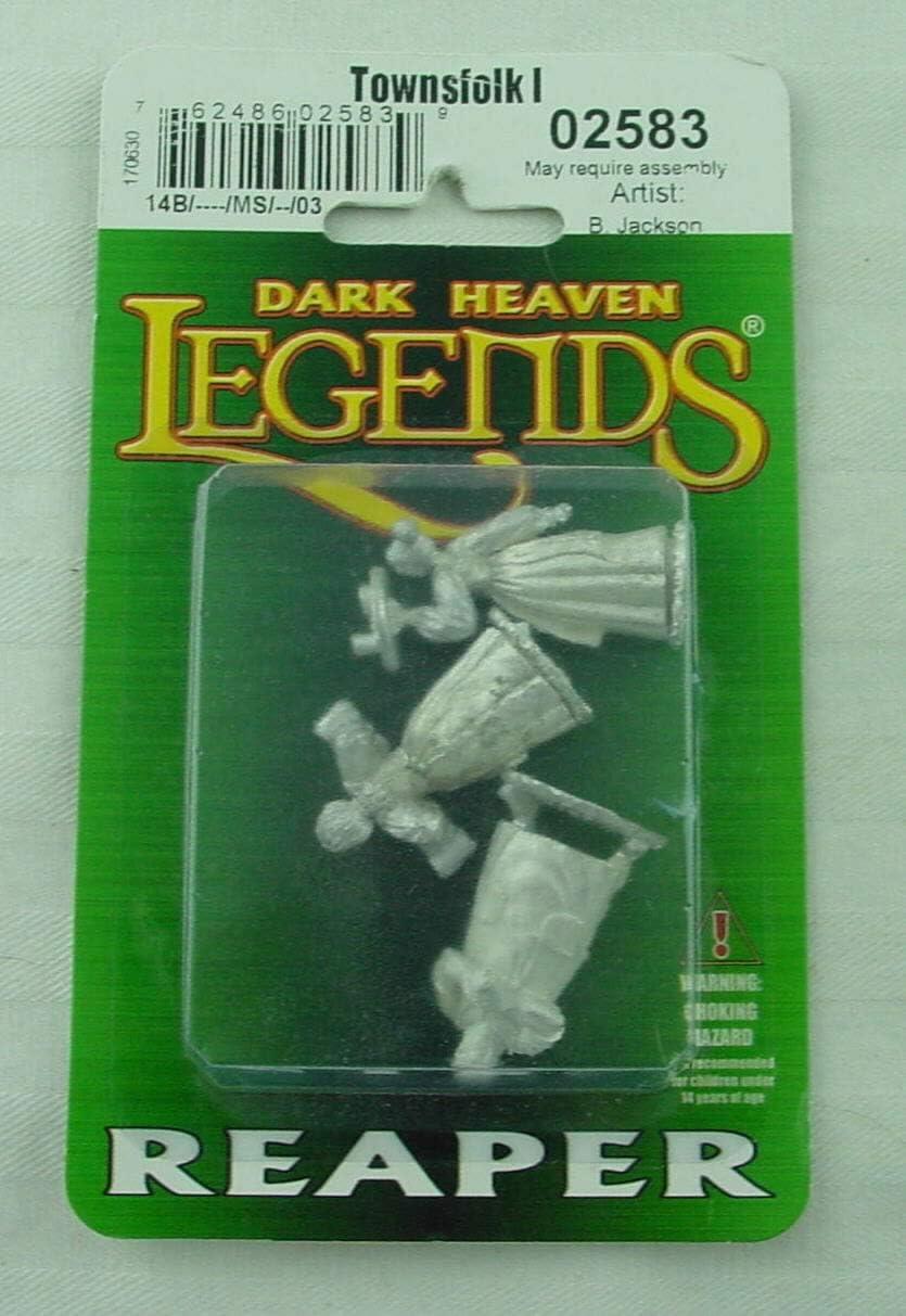 Dark Heaven Legends Reaper 02584 Townsfolk II