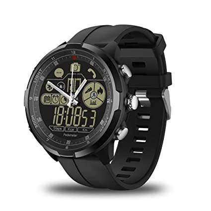 Amazon.com: TZZ Water Resistant Rugged Smartwatch 1.24inch ...