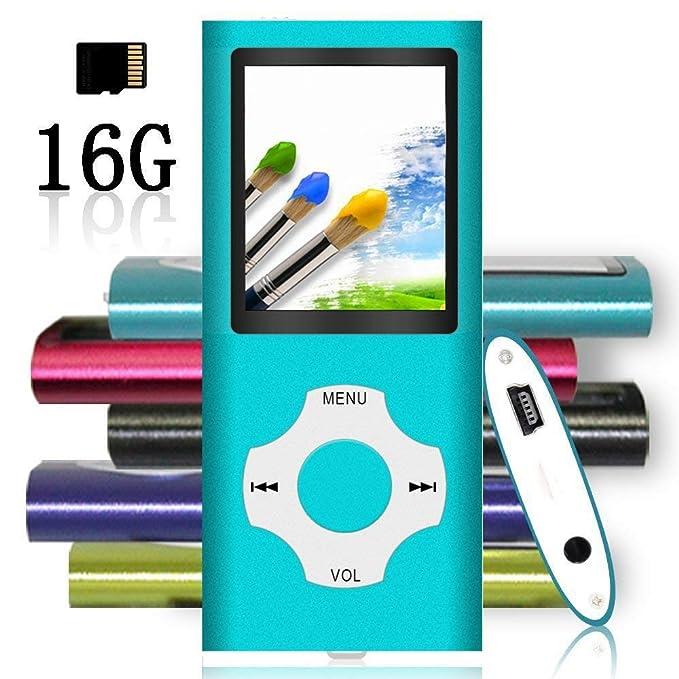 Tomameri - Reproductor de música MP3 portátil con Tarjeta ...