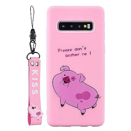Amazon.com: SHUNDA Galaxy Note 8 Funda, Slim Cartoon ...
