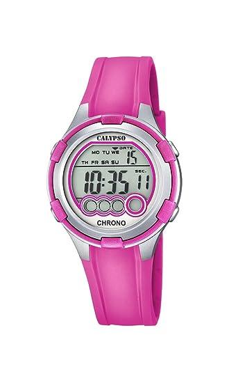 Calypso K5692/3 - Reloj de Pulsera Mujer, Plástico, Color Rosa: Amazon.es: Relojes
