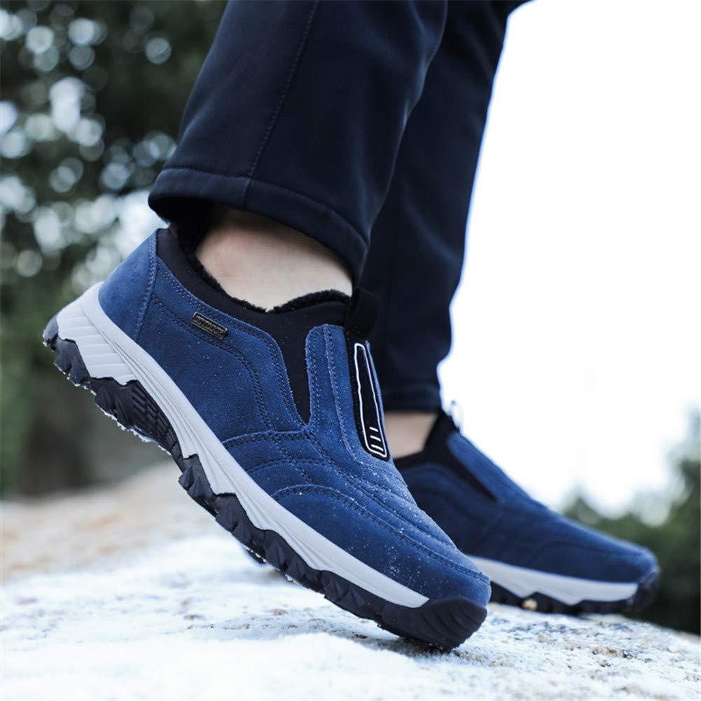 Zapatos para Caminar para Hombre Zapatos De Senderismo Impermeables para Invierno para Correr Al Aire Libre Trekking Escalada