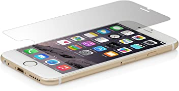 """StilGut Protection d'écran en verre trempé pour iPhone 6s (4.7""""). Protection écran iPhone 6s en verre ultra-resistante et transparente (lot de 2)"""