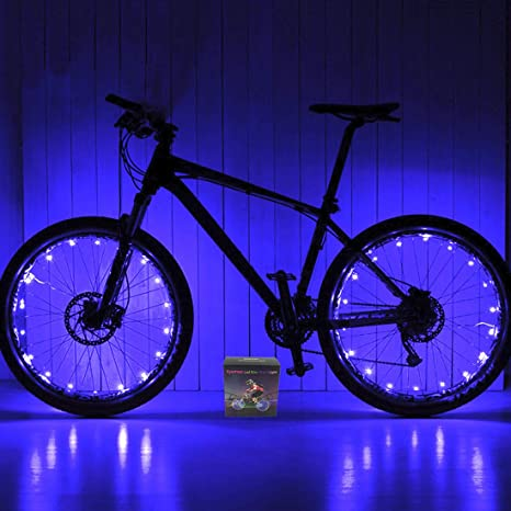 Xyemao - Luces LED para Rueda de Bicicleta (2 Unidades ...