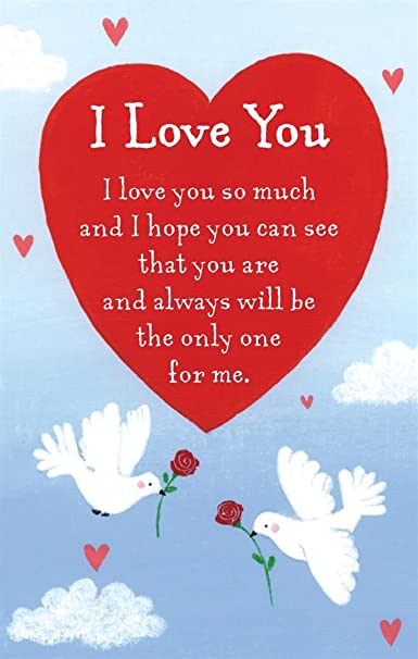 Heartwarmers i love you keepsake card envelope 35 x 2 code heartwarmers i love you keepsake card envelope 35 x 2 code k104e amazon office products m4hsunfo