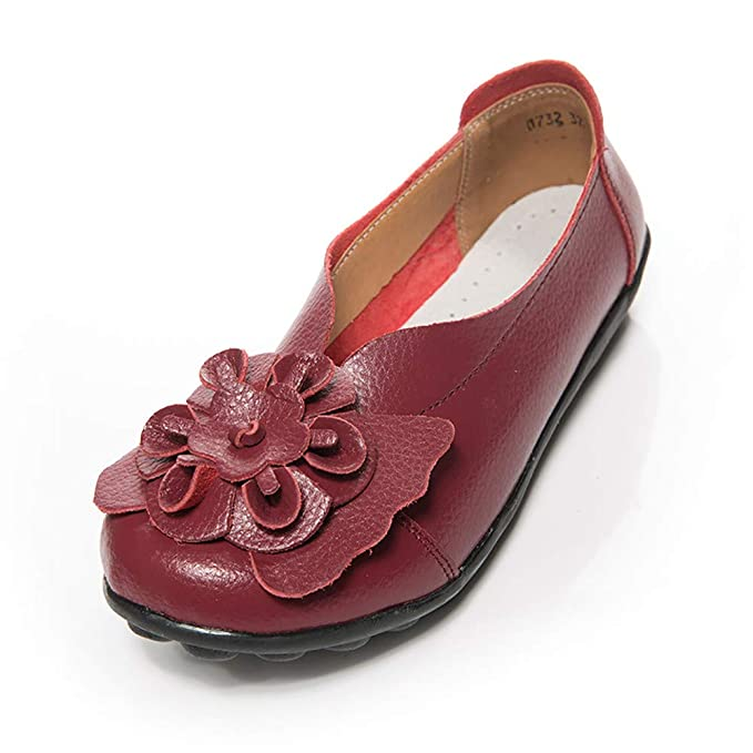ed494a3f106bf Amazon.com: Big Promotion! Women Floral Leather Shoes,Oliviavan Lady ...