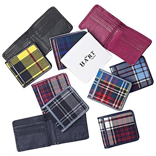 MacDonald Hart MacDonald Wallet Tartan Hart leather Maroon Tartan APptPw