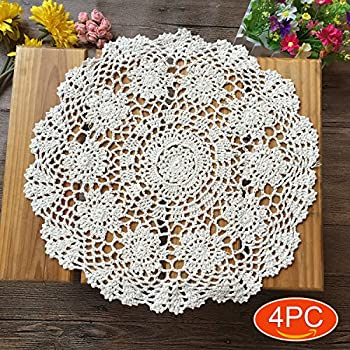 Amazon.com: kilofly Handmade Crochet Cotton Lace Table