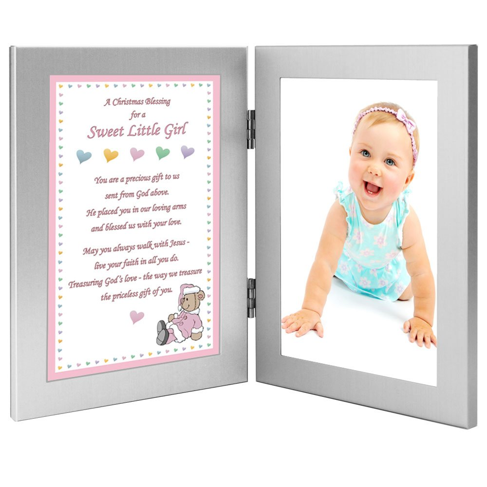 Amazon.com : Christmas Gift for Baby Girl, A Blessing Poem in Double ...