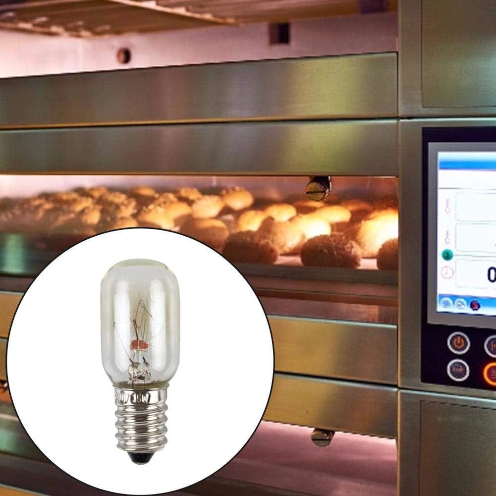 15W E14 Bombilla de Horno Luz Blanca Cálida Bombilla LED para ...