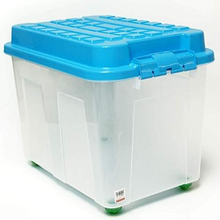TronicXL Rollbox XXL - Caja de almacenaje con Ruedas (75 L, con Tapa): Amazon.es: Hogar