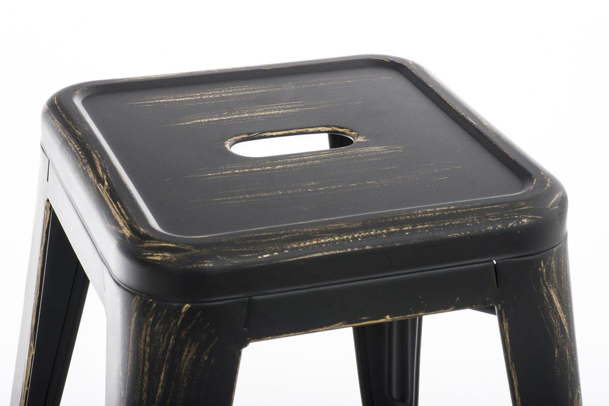 Clp panchetto multiuso armin in metallo sgabello design