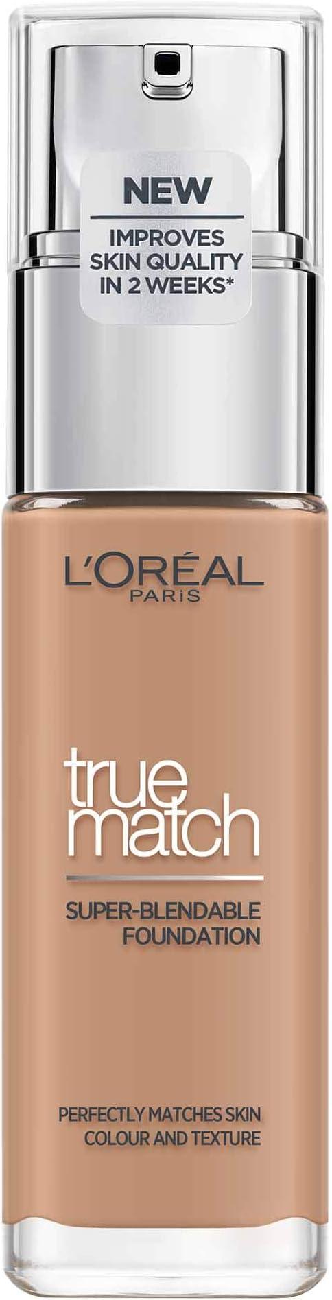 Maquillaje de LOréal Paris Perfect Match, D5 / W5 Golden Sand ...