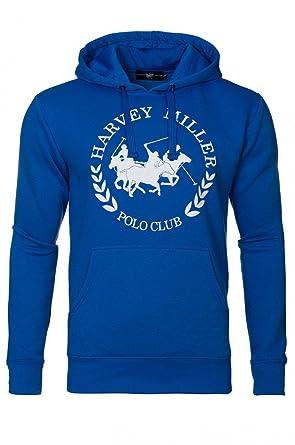 f7e2c8950 HARVEY MILLER POLO CLUB Men's Jumper Blue Royal: Amazon.co.uk: Clothing
