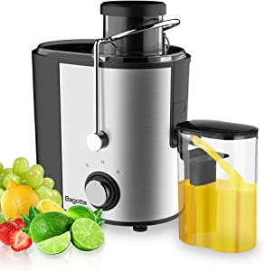 Juicer Machines,Fruit and Vegetable Juice Extracto 2 Speed Cold Juice Extractor with 65MM Wide Mouth, Anti-slippery Feet and Easy Cleaning, Stainless Steel Centrifuge with Drip Stop Function, BPA Free