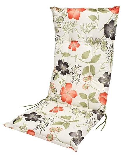 JYSK jardín silla reclinable cojín fjordenge flores: Amazon ...