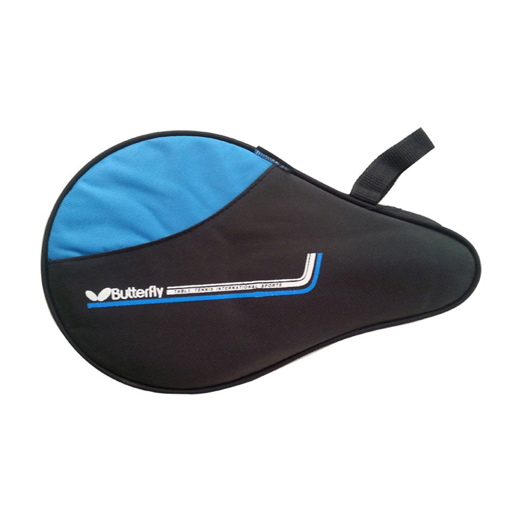 Table Tennis Racket Case PingPong Ping Pong Bat Cover Paddle Bag - Blue