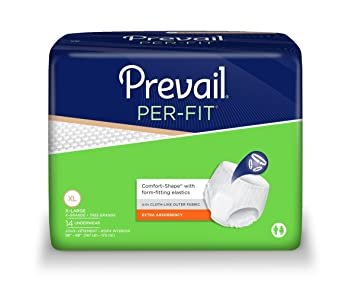 Prevail Per-Fit Extra Absorbency Incontinence Underwear, Extra Large, 14-Count