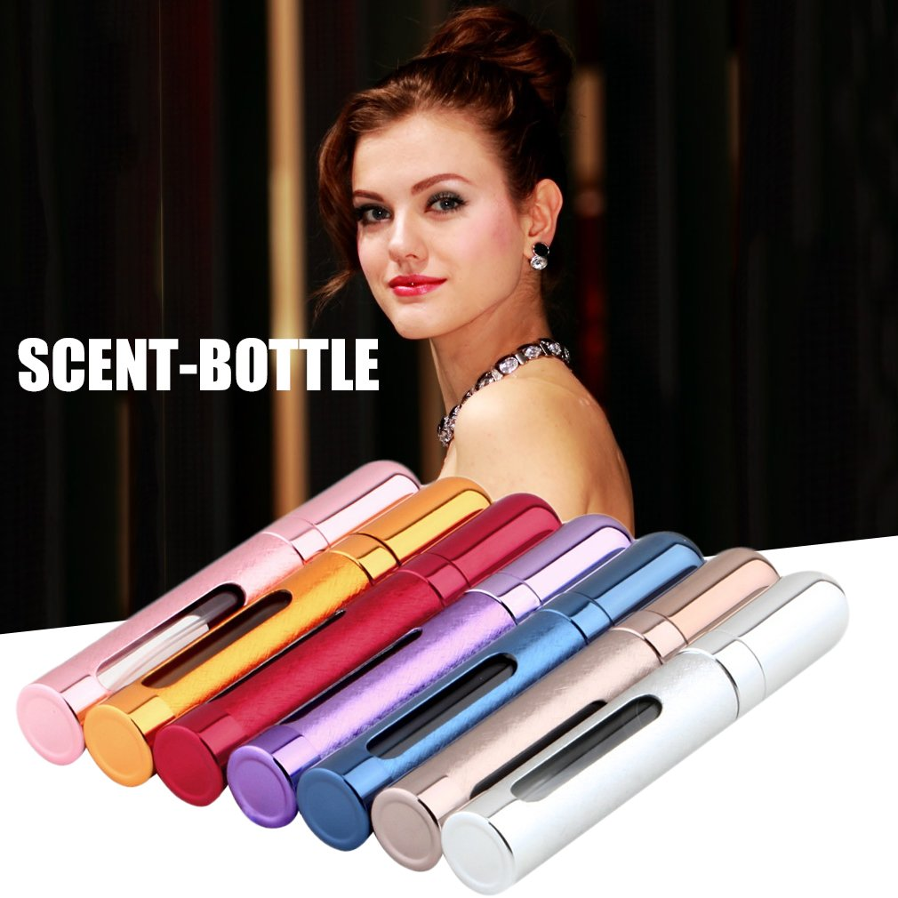 Hemore Fashion Deluxe Travel Refillable Mini Perfume Bottle Atomiser Spray Make up Tools Accessories