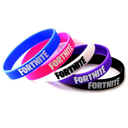 AOLVO Pulseras para Suministros de Fiesta de Fortnite – Set de Regalo de cumpleaños para niños, Regalo de Fortnite Gamer