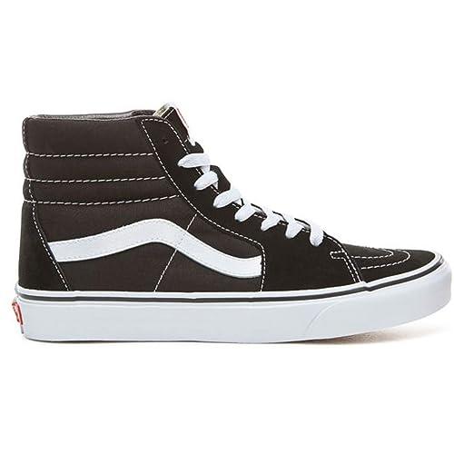 aa0037f72 Vans UA Sk8-Hi Black Black Whi 8  Amazon.es  Zapatos y complementos