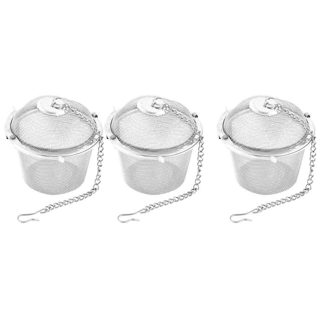 OKSLO Kitchen stainless steel multi use tea spice seasoning infuser strainer 3pcs