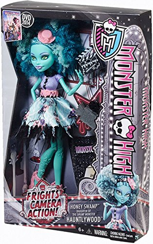 Girl Swamp Monster Costume (Monster High Frights, Camera, Action! Honey Swamp Doll)