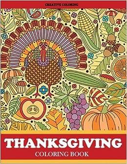 Amazon.com: Thanksgiving Coloring Book: Thanksgiving Coloring Book ...