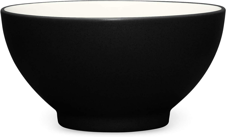 Noritake 6-Inch Colorwave Rice Bowl, Graphite
