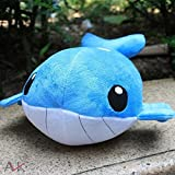"Pokemon Wailord 13"" Plushies Anime Stuffed Animals Plush Toys Children Christmas Gift"