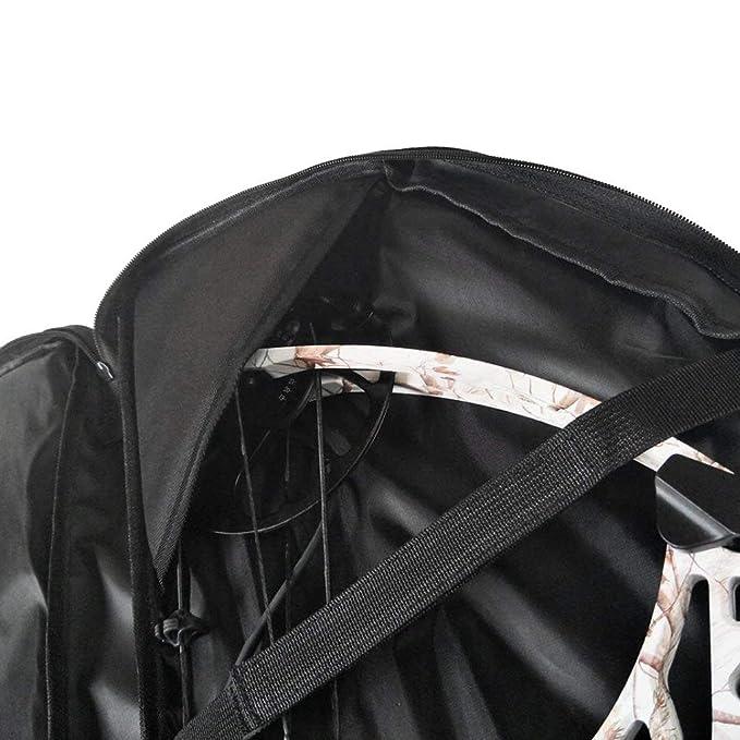 /Carcaj de Flecha Tiro con Arco Bolsa para el Tiro Exterior de Caza Backbayia/