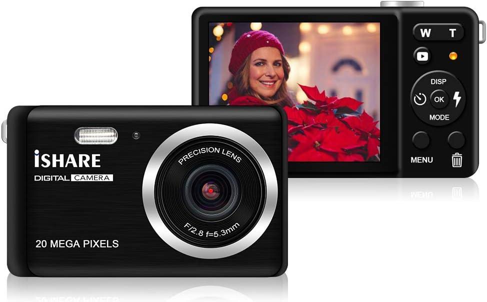 Mini Digital Camera HD Digital Camera Rechargeable Point and Shoot Camera Micro Digital Camera Videos 3-5m Infrared Mini Video Recorder