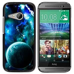 Planetar® ( Electric Earth ) HTC ONE MINI 2 / M8 MINI Fundas Cover Cubre Hard Case Cover