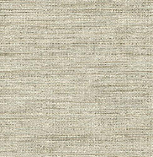 (Brewster Wallcovering Co FD23284 Woven Beige Faux Grasscloth Wallpaper,)