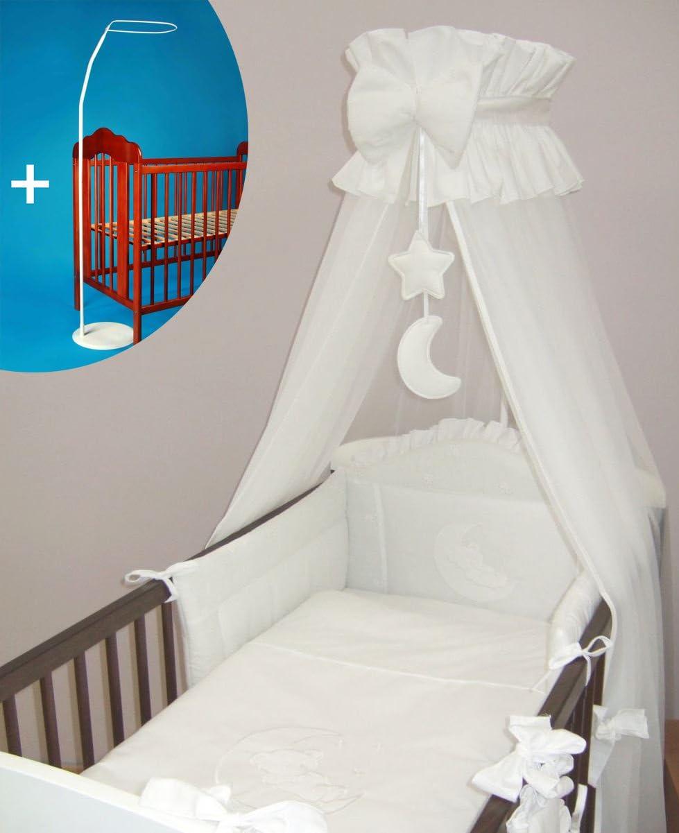 Couronne Lit pour b/éb/é Canopy//moustiquaire 480/cm sol sans support/ /Lune Blanc
