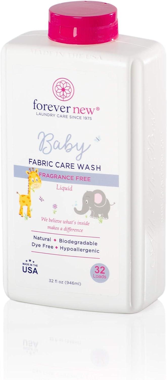 Forever New Baby Liquid Detergent – Fragrance Free, 32 fl oz.