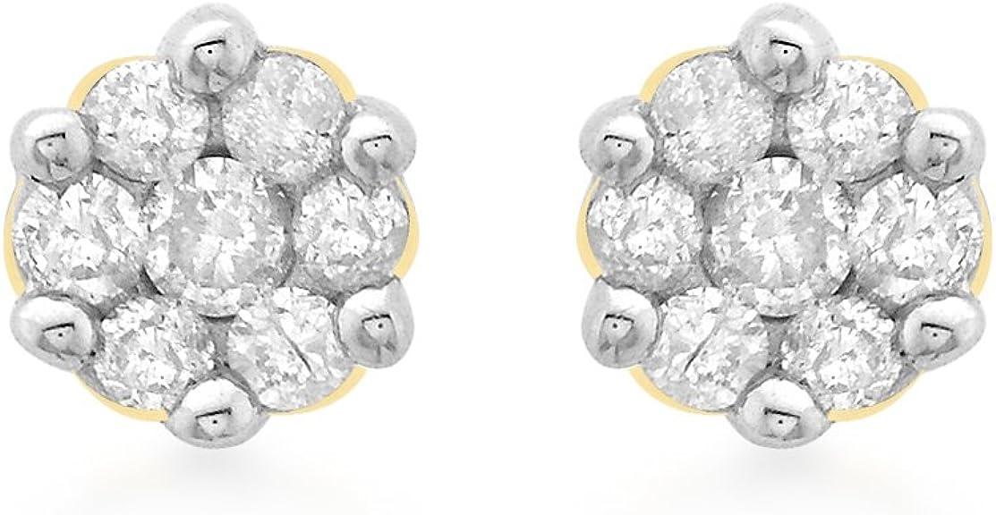 Carissima Gold Pendientes de mujer con oro 9 k (375) y diamante