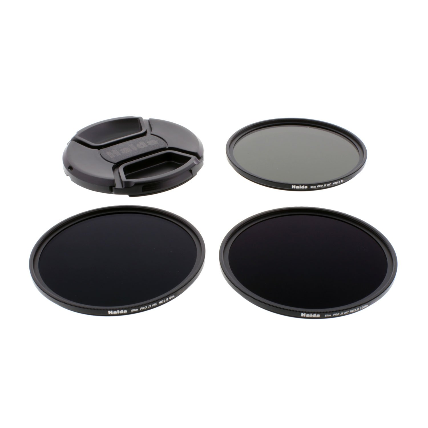 Haida 72mm Slim PROII Neutral Density Multi-Coated ND Filter Kit 8x 64x 1000x and Lens Cap by Haida