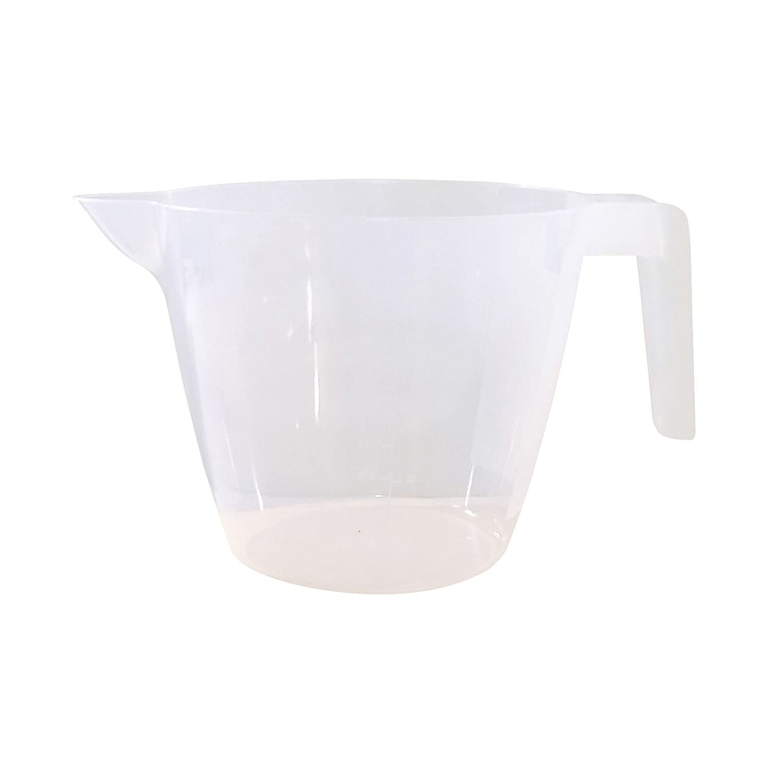 LARGE 2L METRIC AND IMPERIAL MEASURING JUG WITH EASY POUR SPOUT 25 X 12 X 15CM STORAGE UNIQUE