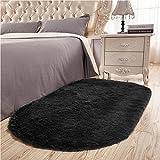 Junovo Ultra Soft Modern Fluffy Area Rug for Living Room Bedroom Kids Room...