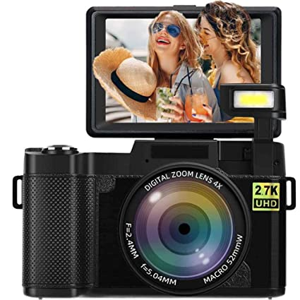 Cámara Digital Vlogging 24MP 2.7k Full HD cámara con Pantalla ...