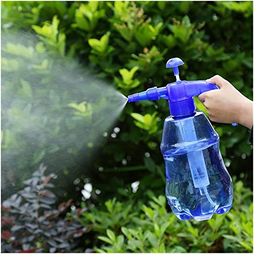 Pulverizador de jardín, Botellas de Spray de plástico Transparente, gatillo pulverizadors Manual Limpieza de Hotel de Oficina en casa Botella de Spray de 1.5L (Color : Azul): Amazon.es: Hogar