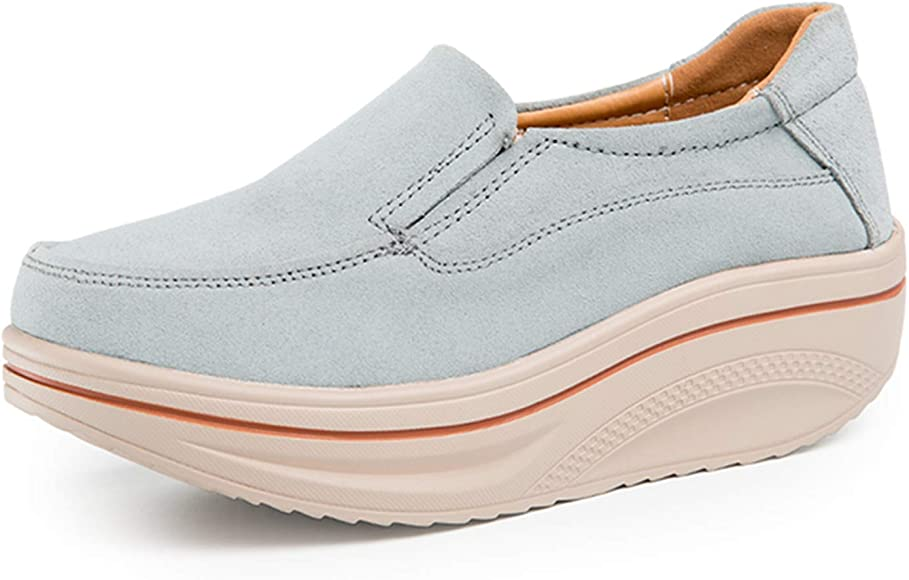 Large size sneakers thick soles ladies