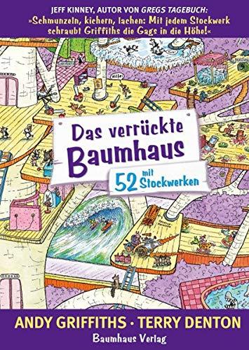 Das verrückte Baumhaus - mit 52 Stockwerken: Band 4 Gebundenes Buch – 25. August 2017 Andy Griffiths Christina Neiske 3833907118 Australien